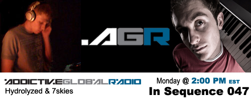Addictive Global Radio - In Sequence 047 with Hydrolyzed and 7skies (01-19-09)