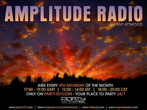 Amplitude Radio Debut with Ant Attwood (12-22-07)