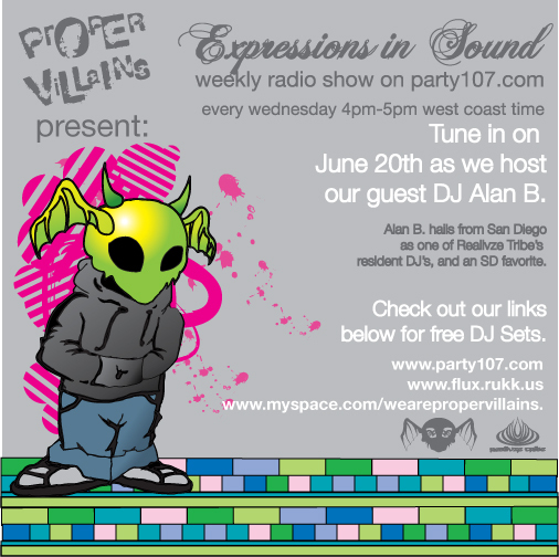Expressions in Sound with guest Alan B (06-20-07)!