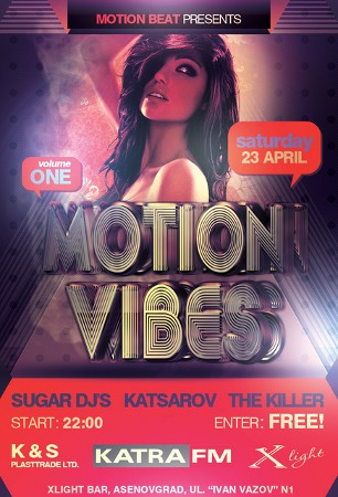 Motion Vibes Volume 1 LIVE from Bulgaria (2011-04-23)