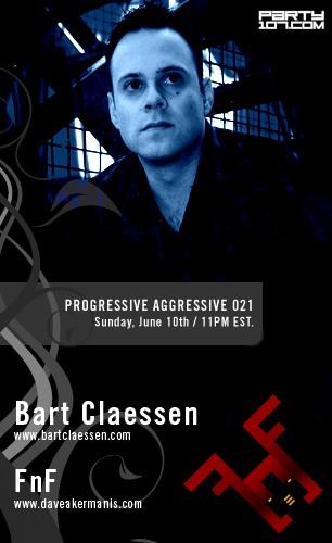 Progressive Aggressive 021 with special guest Bart Claessen (06-10-07)