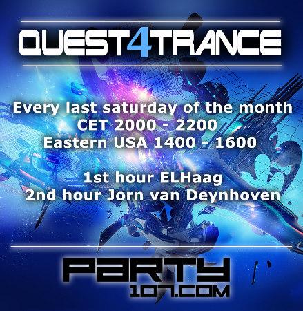 Quest4Trance 002 with Guest Jorn van Deynhoven (2011-01-29)