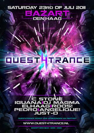 Quest4Trance LIVE at Bazart, The Hague, Netherlands (2011-07-23)