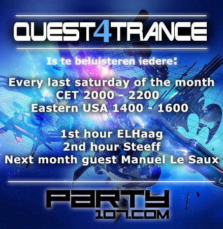 Quest4Trance 005 with ELHaag and DJ Steeff (2011-04-30)