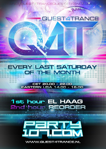 Quest4Trance 013 with ELHaag and ReOrder (2011-12-31)