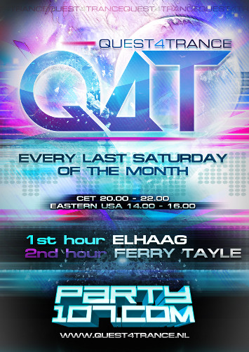 Quest4Trance 014 with ELHaag and Ferry Tayle (2012-01-28)