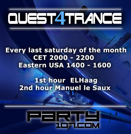 Quest4Trance 006 with ELHaag and Manuel Le Saux (2011-05-28)