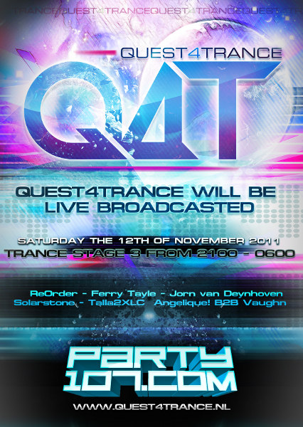 Quest4Trance HeavensGate LIVE from Gorinchem, NL