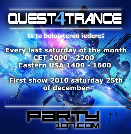 Quest4Trance Monthly Show Debut with Guest Ferry Tayle (2010-12-25)