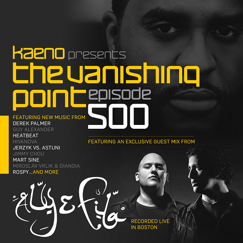 The Vanishing Point episode 500 with Kaeno and Aly & Fila (2016-10-03)!