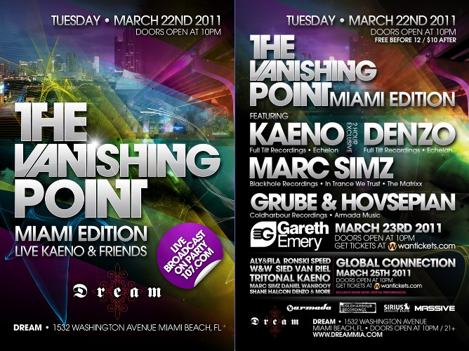 The Vanishing Point Miami Edition LIVE (2011-03-22)