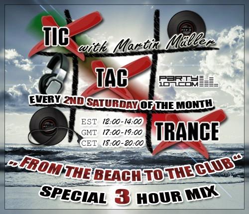 Tic Tac Trance 006 - Special 3 Hour Show (06-14-08)