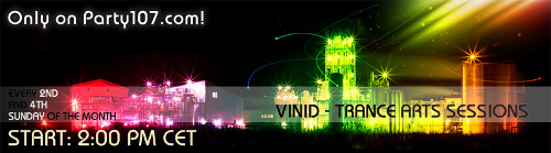 Trance Arts Sessions Debut with ViNiD (01-11-09)