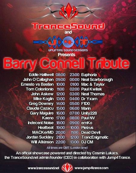 TranceSound and Jump4Trance present Barry Connell Tribute (2010-05-29)