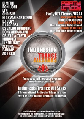TranceSound Showcase presents Indonesia Trance All Stars
