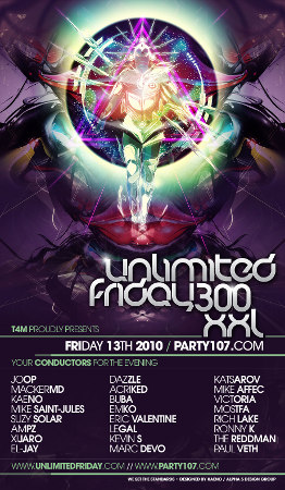 UNLiMiTED FRiDAY 300 XXL - 50+ Hour Celebration This Weekend