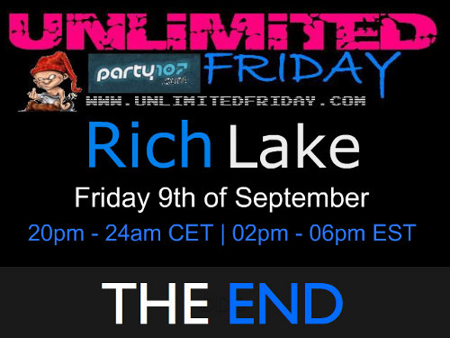 UNLiMiTED FRiDAY 356 XXL with Rich Lake (2011-09-09)