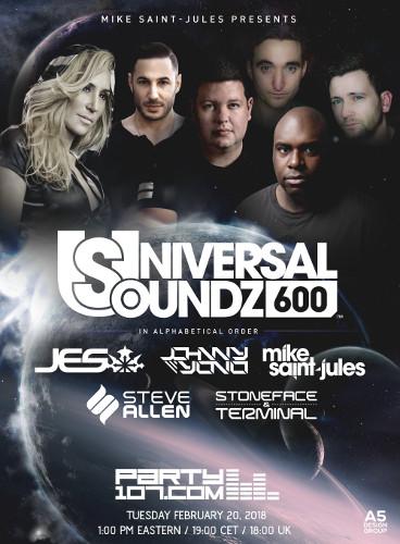 Universal Soundz 600 Celebration - 6 Hours Nonstop Sets!