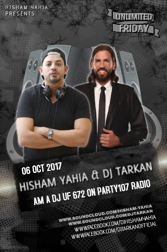 UNLiMiTED FRiDAY 672 with Hisham Yahia and DJ Tarkan