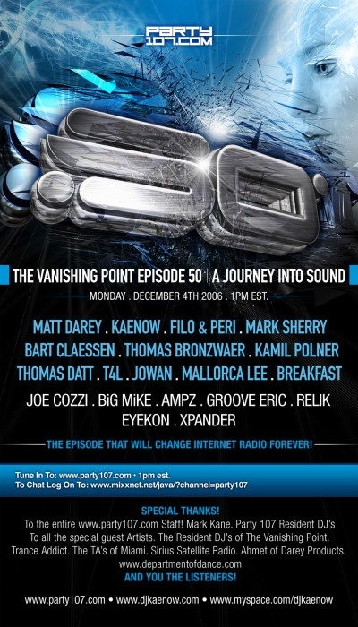 The Vanishing Point 050 - Massive 50th Episode Celebration (12-04-06)!