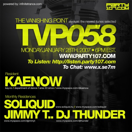 The Vanishing Point 058 with Kaenow, Soliquid, Jimmy T, and Thunder