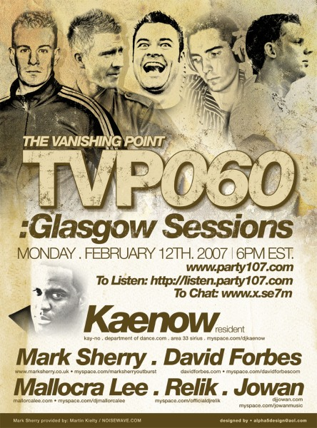 Kaenow, Mark Sherry, David Forbes, and MORE - The Vanishing Point 060 Special (02-12-07)
