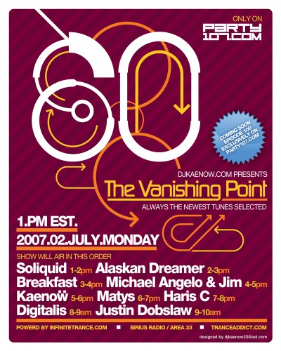 The Vanishing Point 080 - Kaenow, Soliquid, Breakfast, Haris C, Digitalis, and more (07-02-07)!