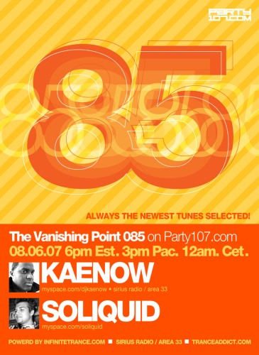 The Vanishing Point 085 with Kaenow and Soliquid (08-06-07)