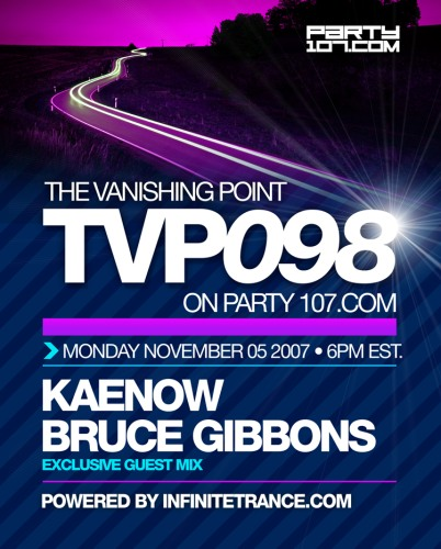 The Vanishing Point 098 with Kaenow and Bruce Gibbons (11-05-07)