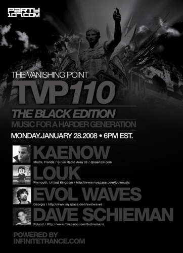 The Vanishing Point 110 with Kaenow, Louk, Evol Waves, and Dave Schiemann (01-28-08)