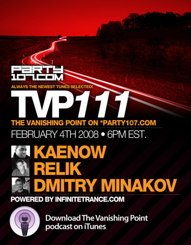 The Vanishing Point 111 with Kaenow, Relik, and Dmitry Minakov (02-04-08)