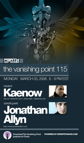 The Vanishing Point 115 with Kaenow and Johnathan Allyn (03-03-08)