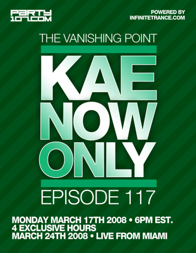 The Vanishing Point 117 with Kaenow (03-17-08)