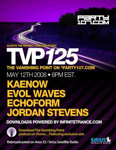 The Vanishing Point 125 with Kaenow, Evol Waves, Echoform, and Jordan Stevens (05-12-08)