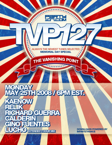 The Vanishing Point Memorial Day Special with Kaenow, Relik, Richard Guerra, Calderin, Gino Fuentes, and Lucho