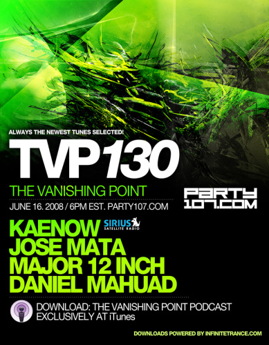 The Vanishing Point 130 with Kaenow, Jose Mata, Major 12 Inch, and Daniel Mahuad