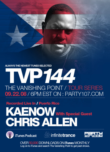 The Vanishing Point 144 with Kaenow and Chris Allen (09-22-08)