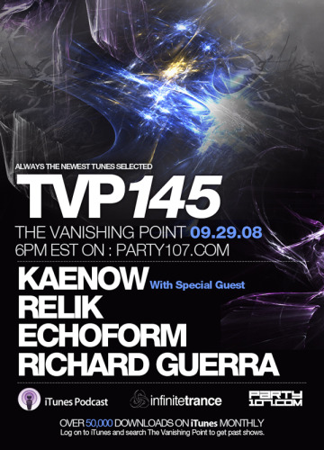 The Vanishing Point 145 with Kaenow, Relik, Echoform, and Richard Guerra (09-29-08)