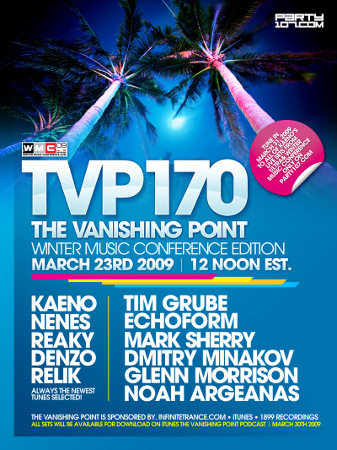 The Vanishing Point 170 - WMC Special with Kaeno, Glenn Morrison, Mark Sherry, Nenes, Tim Grube, and more (03-23-09)