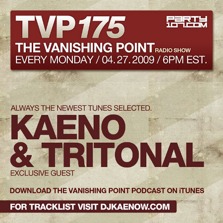 The Vanishing Point 175 with Kaeno and Tritonal (04-27-09)