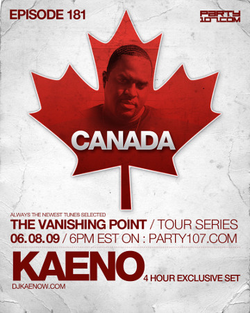 The Vanishing Point 181 Tour Series from Canada (06-08-09)