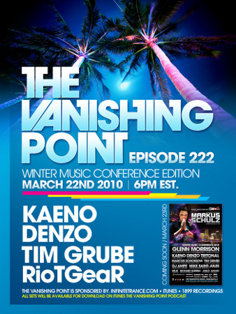 The Vanishing Point 222 - WMC Edition with Kaeno, Denzo, Tim Grube, and RioTGeaR