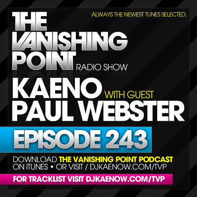 The Vanishing Point 243 with Kaeno and Paul Webster (2010-08-16)